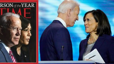 Photo of Joe Biden and Kamala Harris elected Time magazine's 'Person of the Year 2020'