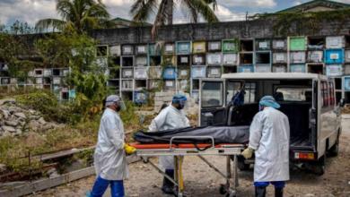 Photo of Corona outbreak increased in America, dead bodies not left in California