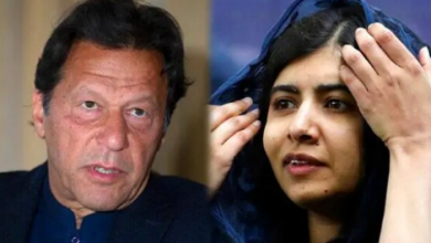 Photo of Terrorist fleeing from jail threatens to shoot again, will Imran Khan or Bajwa answer Malala's question?