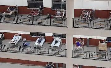 Photo of राजस्थान :जयपुर के RUHS में बेड फुल, बरामदों में हो रहा कोरोना मरीजों का इलाज