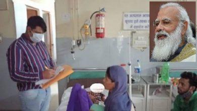 Photo of खुशहाल मोदीजी का भारत पर भूख का पैबंद  !