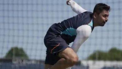 Photo of तेज गेंदबाज आवेश खान चोट की वजह से हुए प्रैक्टिस मैच से हुए बाहर