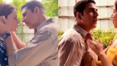 Photo of नुपूर सेनन को KISS करने वाले थे अक्षय कुमार, तभी हुआ कुछ ऐसा अभिनेता हुए हैरान, मजेदार है वीडियो