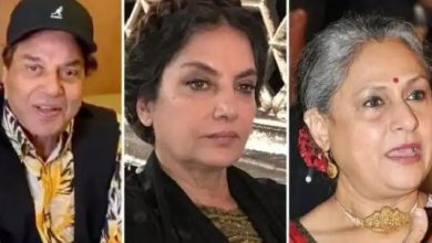 Photo of रॉकी और रानी की प्रेम कहानी में शबाना आजमी और जया बच्चन के साथ रोमांस करते दिखेंगे धर्मेंद्र