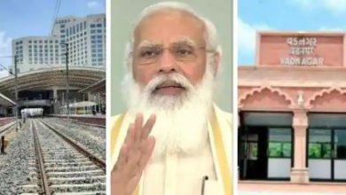Photo of गुजरात को PM मोदी ने दिया खास गिफ्ट, नीचे ट्रेन और ऊपर 5 सितारा होटल.जन्मभूमि को भी तोहफा