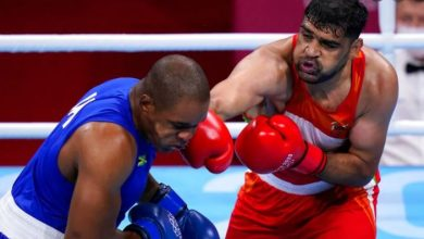 Photo of सतीश कुमार ओलंपिक मेडल से एक जीत दूर, क्वार्टर फाइनल में पहुंचने वाले तीसरे भारतीय मुक्केबाज